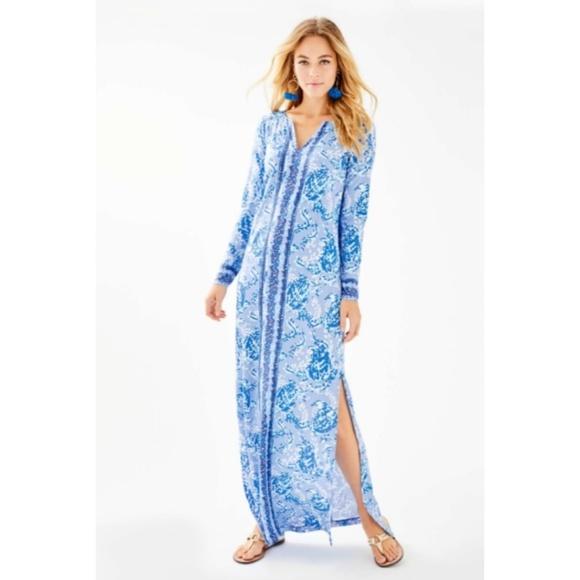 Lilly Pulitzer Dresses & Skirts - Lily Pulitzer UPF 50+ Faye Maxi Dress